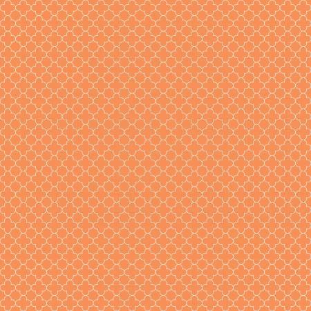 Quatrefoil Mini Color Orange