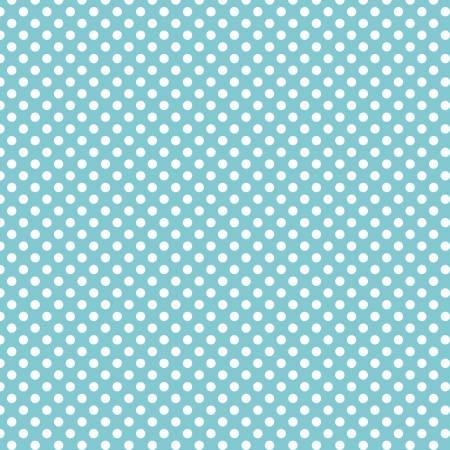 Small White Dots on Aqua
