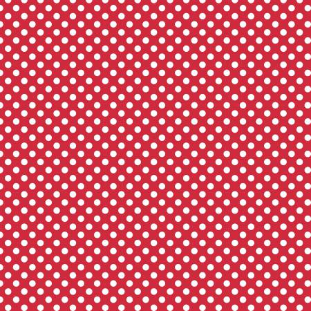 Small Dots Red