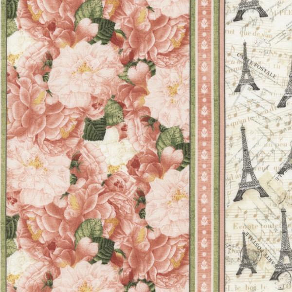 Pink Floral/Paris Stripe-C3562-PNK