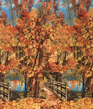 NATURE-3568 AUTUMN LANDSCAPE PANEL