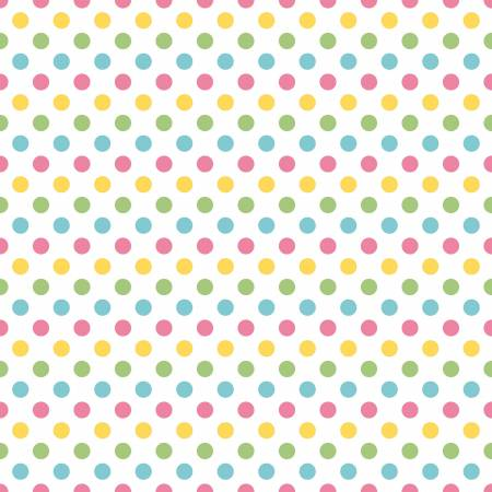 Riley Blake Medium Dots Girl 02622