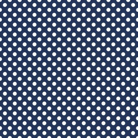 Medium Dots Navy C360R-21NAVY