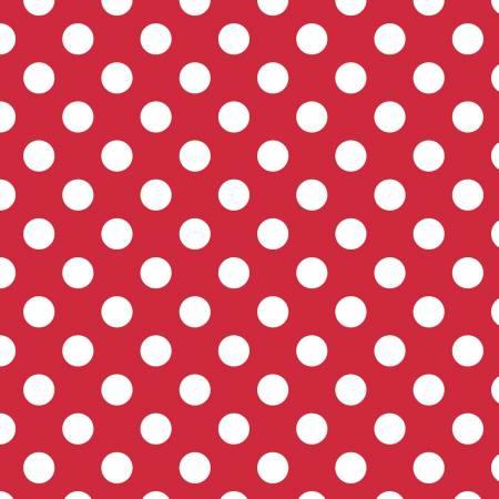 RB Medium Dots Red