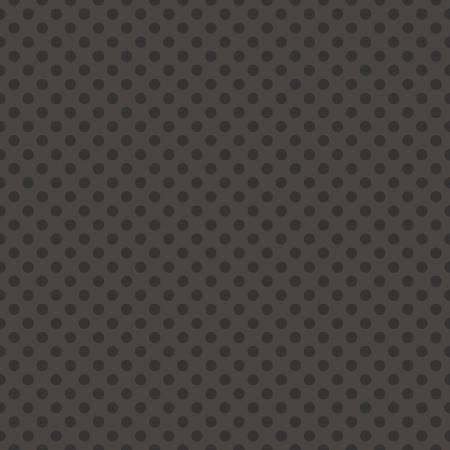 Small Dot Tone Black on Gray