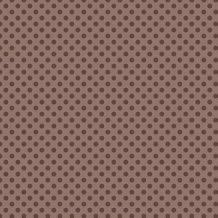 Small Dots Tone on Tone Brown