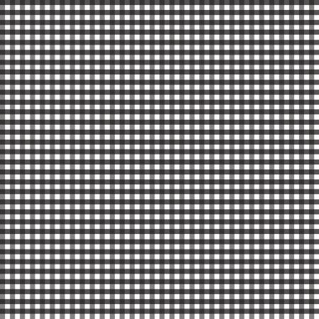 1/8 inch Small Gingham Black