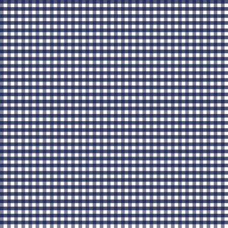 1/8 inch Small Gingham Navy