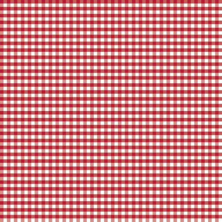 1/8 inch Small Gingham Red