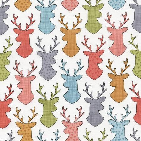 Fun C4446 White Deer Heads