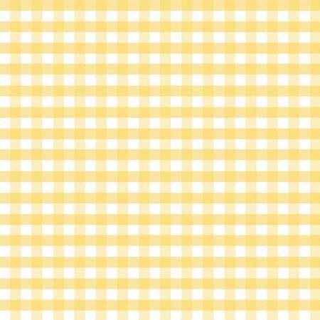 1/4 inch Medium Gingham Yellow