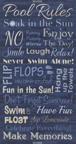 Blue Pool Rules Panel
