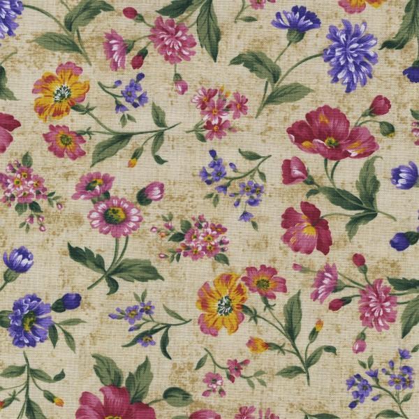 Beige Floral C4670