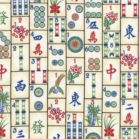 Timeless Treasures - Mahjong