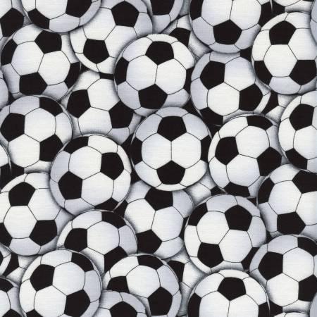 White Packed Soccer Balls C4820-WHT