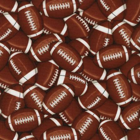 Brown Packed Footballs