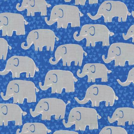 Fun C4935 Blue Elephants