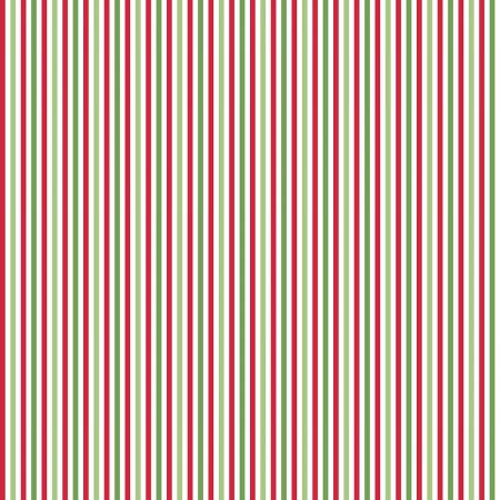 Stripe 1/8 Inch Color CHRISTMAS