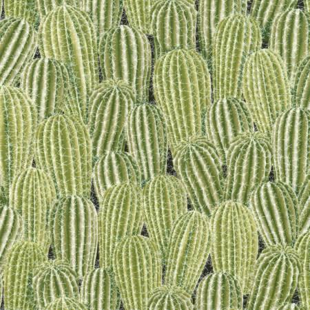 Timeless Treasures Southwest - Stacked Cactus