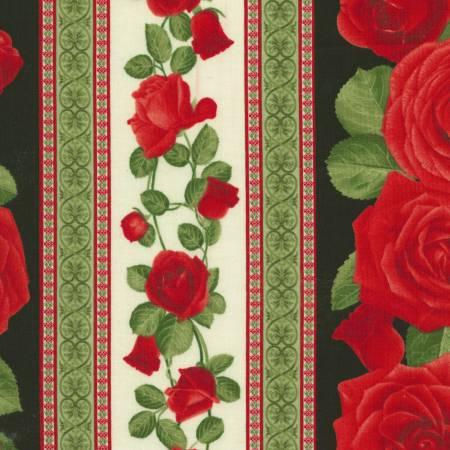 Glamour C5050 Black Rose Stripe