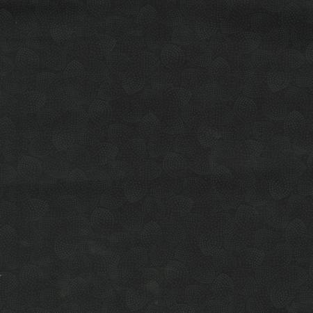 Black on Black Dotted Petals