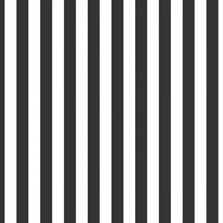 Black Stripe 1/2 Inch Fabric