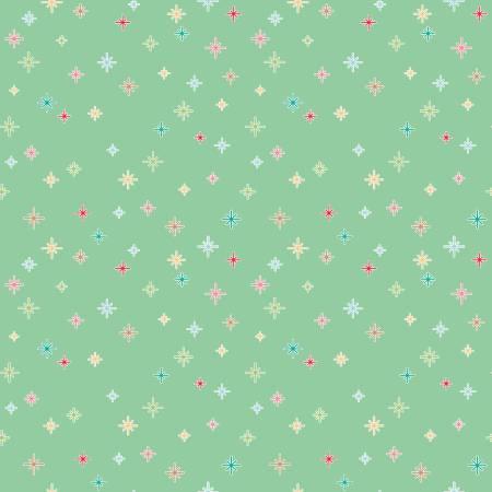 1 Yard Cuts of Cozy Sparkle Mint (F10431)