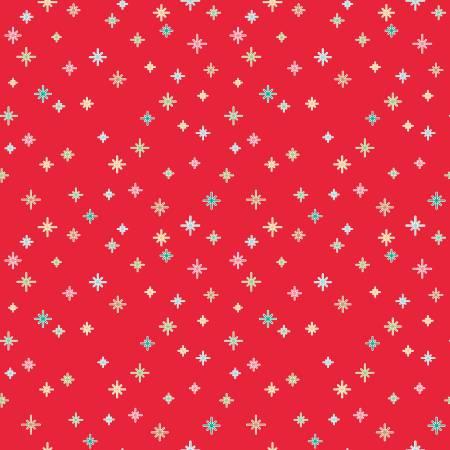 Cozy Christmas Cozy Sparkle Red