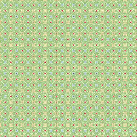 Cozy Wrapping Paper Green C5367