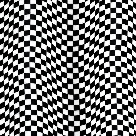 Checkered Flag C5402 Black/White