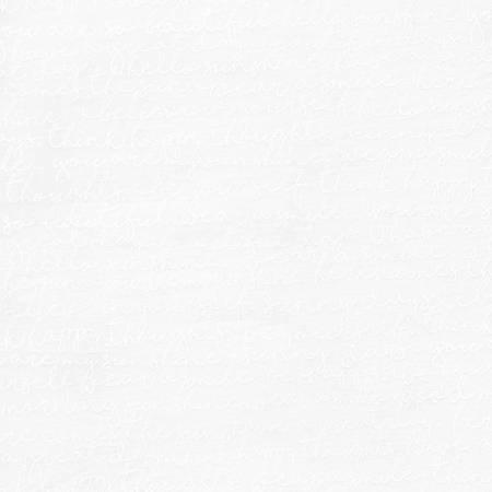 White Script