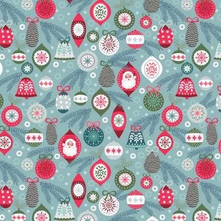 Lewis & Irene Christmas Trees C56-1 Ice Baubles