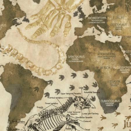 Dinosaurs Dino Map