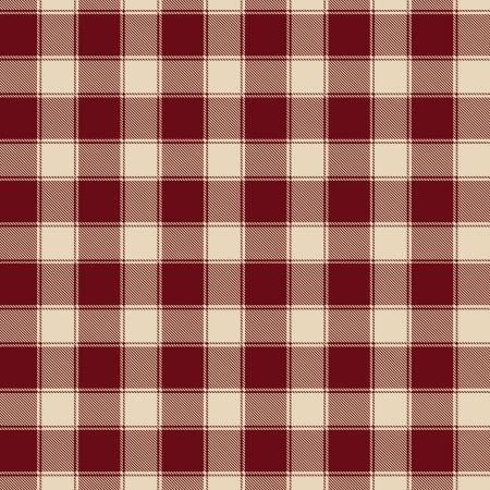 Berry Patriotic Plaid