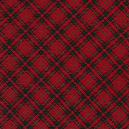 Timeless Treasures Red Plaid