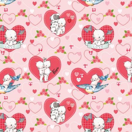 Kewpie Love Main Pink C5820