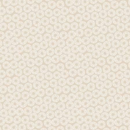 Lewis & Irene New Forest C59-1 Cream Winter Star