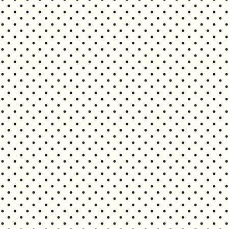 Swiss Dot C600-110 White/Black