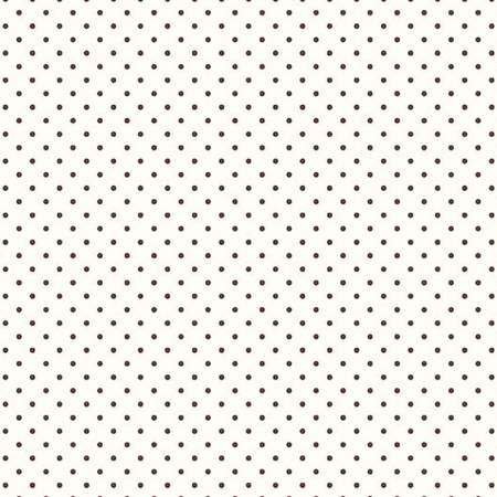 Gretel Swiss Dot Small Color 90 Brown C600-90-Brown
