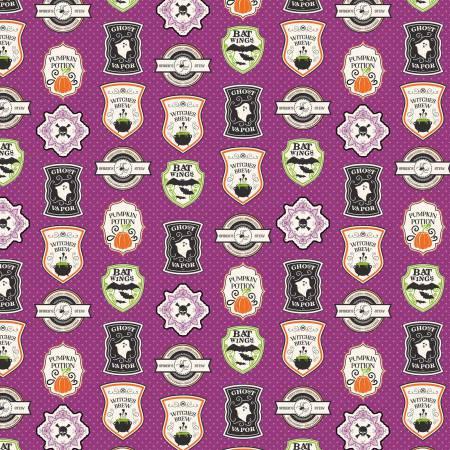 Shriek Badge Purple