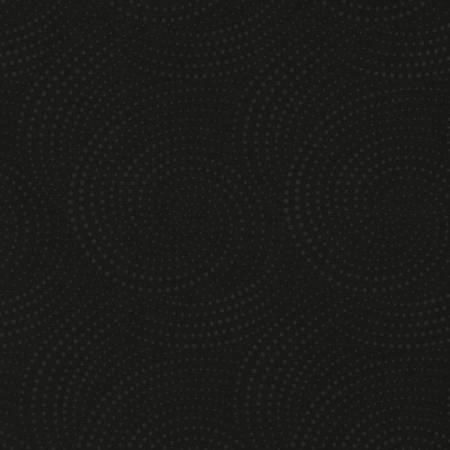 Black on Black Dotted Swirl