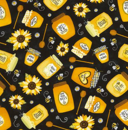 Honey Jars GAIL-C6105 BLK