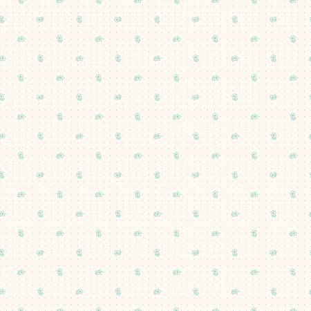 Lori Holt Backgrounds Daisy Teal by Riley Blake C6380 *