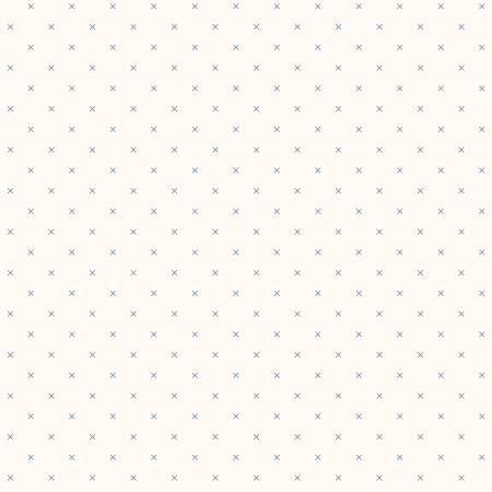 Bee Backgrounds Cross Stitch Blue