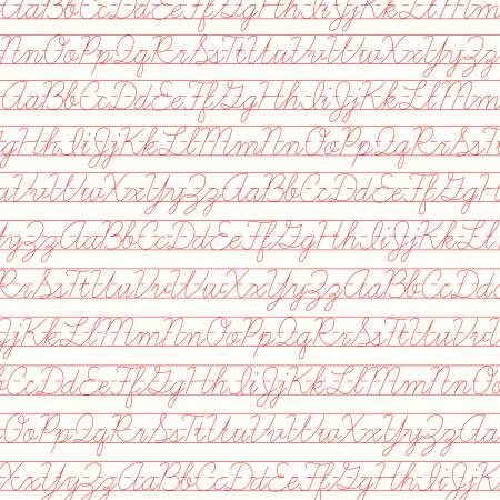 Backgrounds Penmanship Red