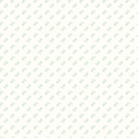 Backgrounds Bicycle Mint by Lori Holt