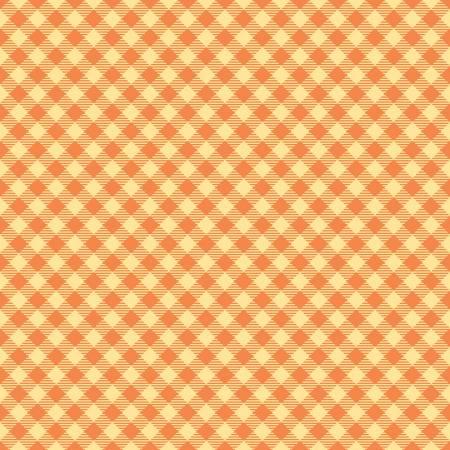 Basics Gngham Orange