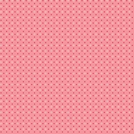 Bee Basics Polka Dot Coral