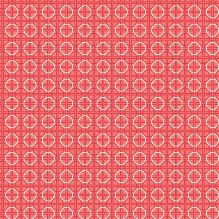 Bee Basics Circle Red