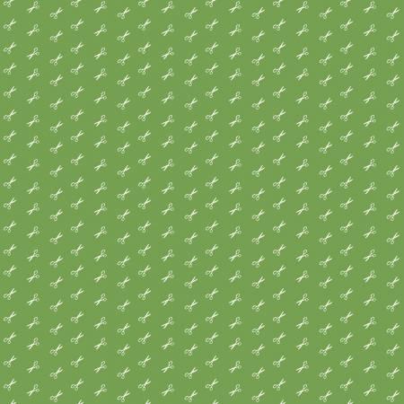 Bee Basics by Lori Holts for Riley Blake #C6408- Scissor Green
